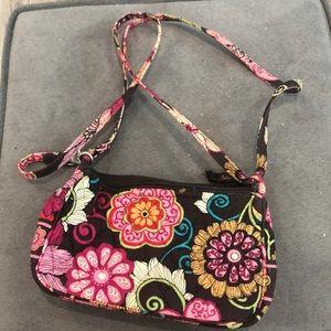 Small Vera Bradley purse mod floral pink